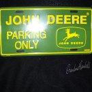 John Deere Licences Plate