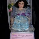 Darla is a  Pretty Porcelain Collectible Doll From theCathay Collection