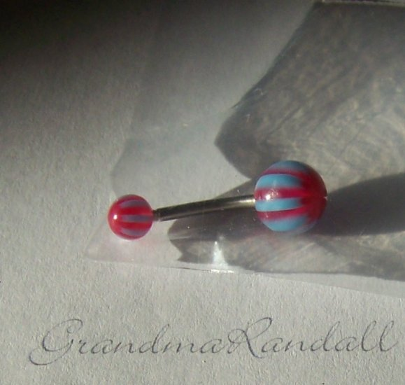 1 inch Surgical Steel Belly Ring