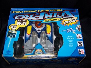 Spin Pro Radio Control  Extreme 360 Tumbling & Spinning Action Wireless