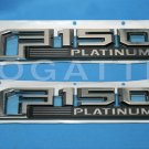 Brand New Ford OEM F-150 Platinum 2014-2015 2 Piece Emblem Set