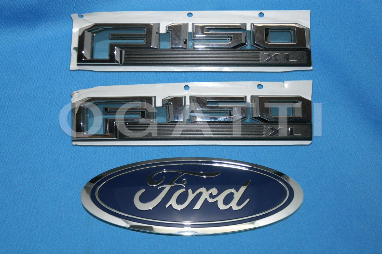 Brand New Ford OEM F-150 XL 2014-2015 3 Piece Emblem Set
