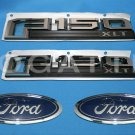 Brand New Ford OEM F-150 XLT 2014-2015 4 Piece Emblem Set