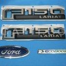 Brand New Ford OEM F-150 Lariat Ecoboost 2014-2015 4 Piece Emblem Set