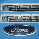 Brand New Ford OEM F-150 King Ranch 2014-2015 3 Piece Emblem Set