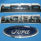 Brand New Ford OEM F-150 Lobo XLT 2014-2015 3 Piece Emblem Set