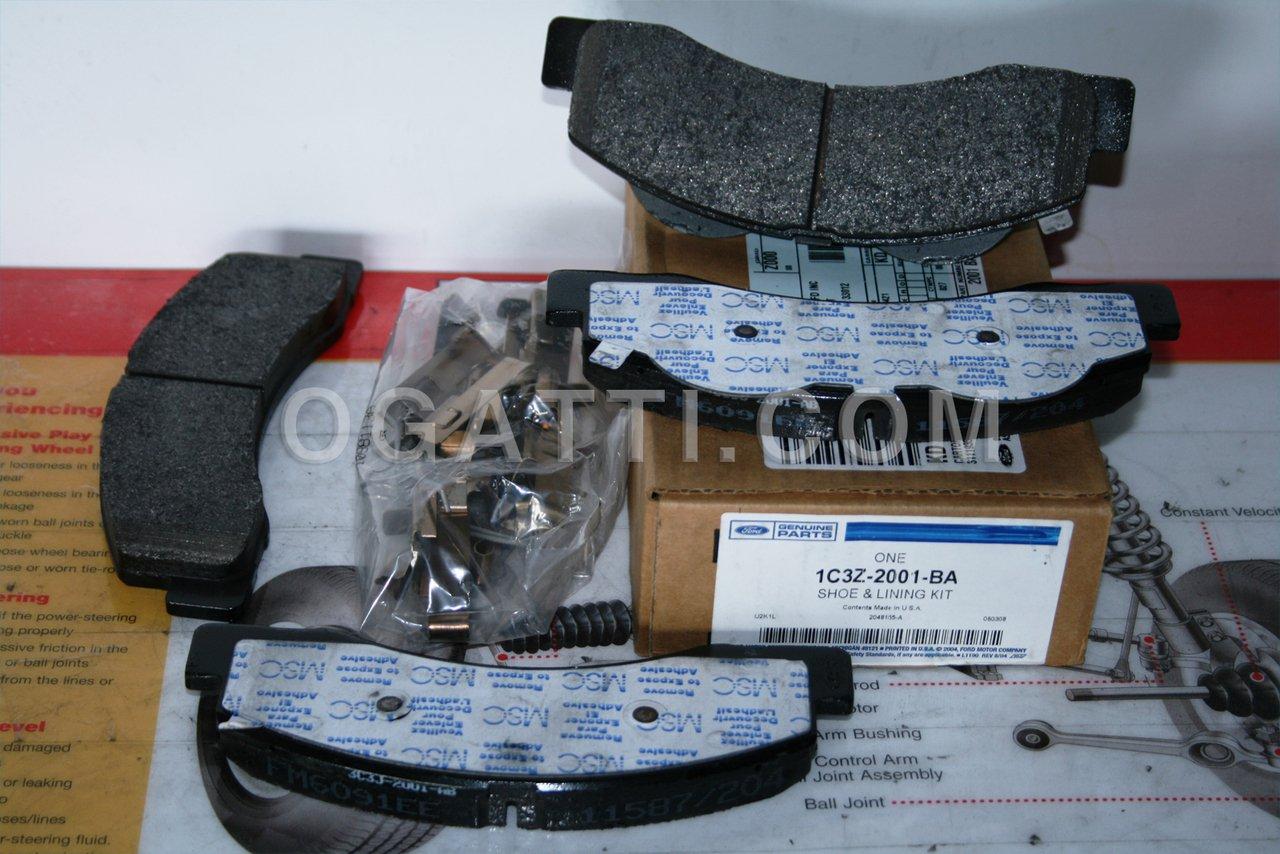 Brand New Ford OEM F-250 F-350 Super Duty Front Brake Pads 1C3Z-2001-BA