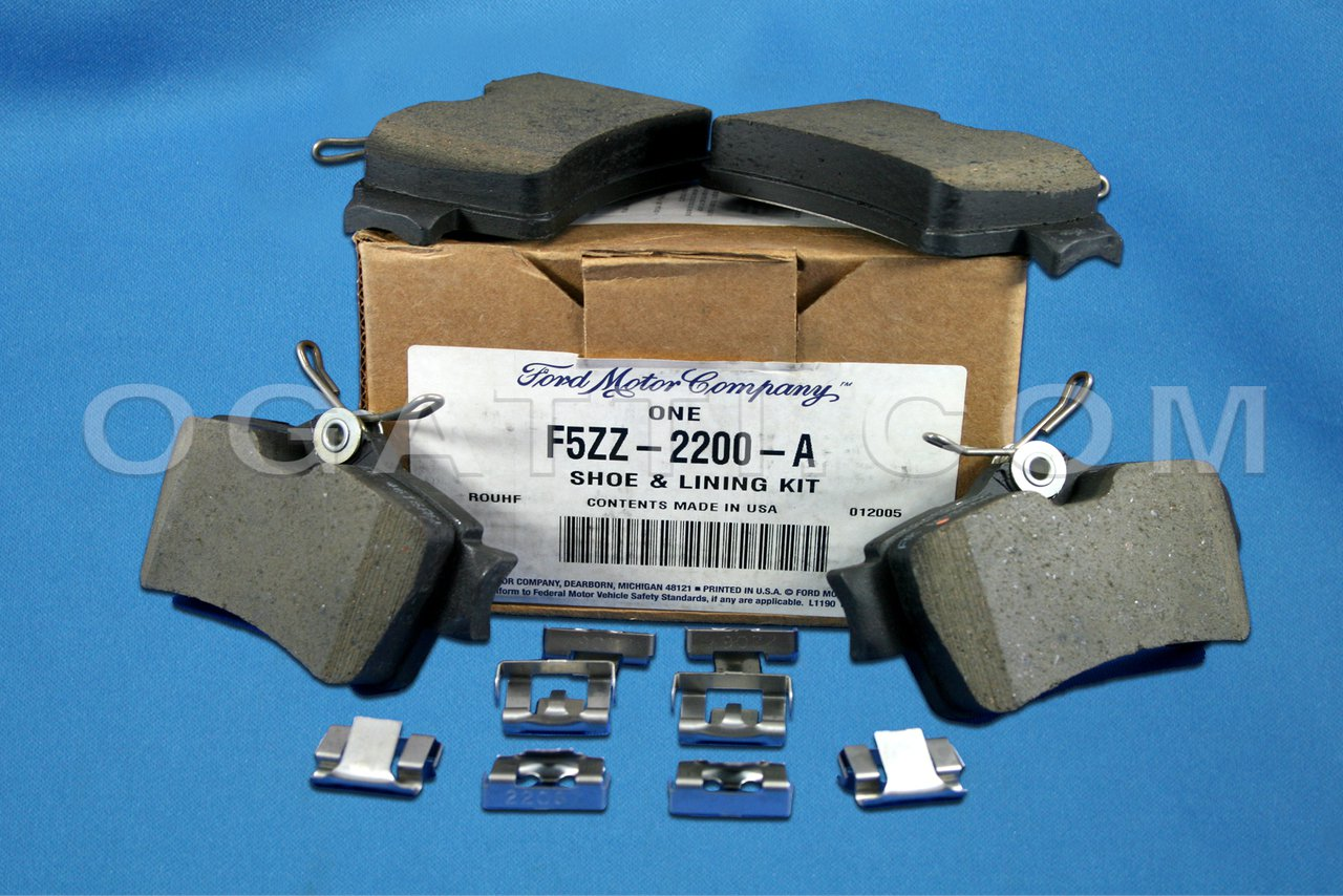 Brand New Ford OEM Mustang 1994-1999 Rear Brake Pads F5ZZ-2200-A