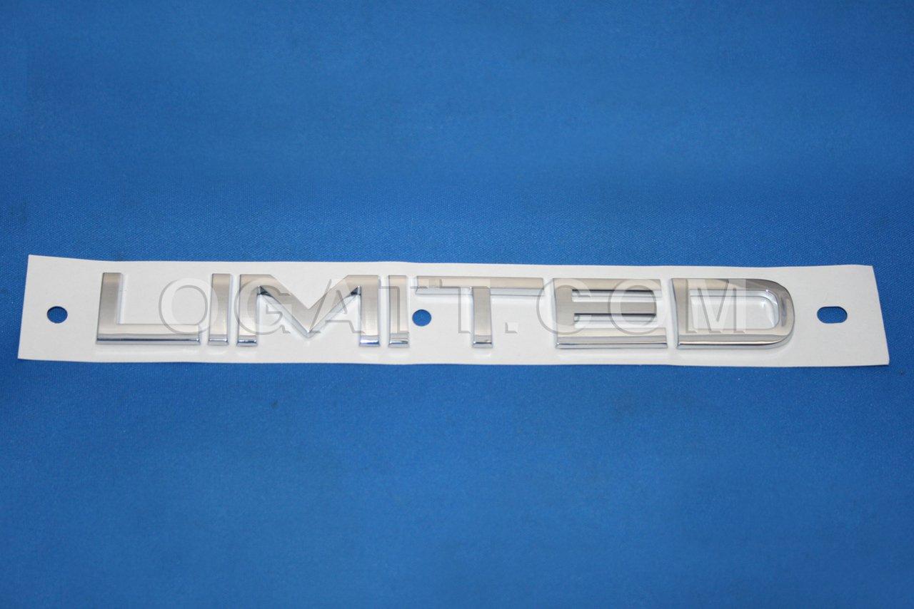 Brand New Ford OEM Flex 2009-2012 Limited Tailgate Emblem 8A8Z-7442528-D