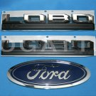 Brand New Ford OEM F-150 Lobo King Ranch 2014-2015 3 Piece Emblem Set