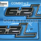 Brand New Ford OEM F-150 Raptor 2010-2012 Fender 6.2L 2 Piece Emblem Set BL3Z-9942528-B