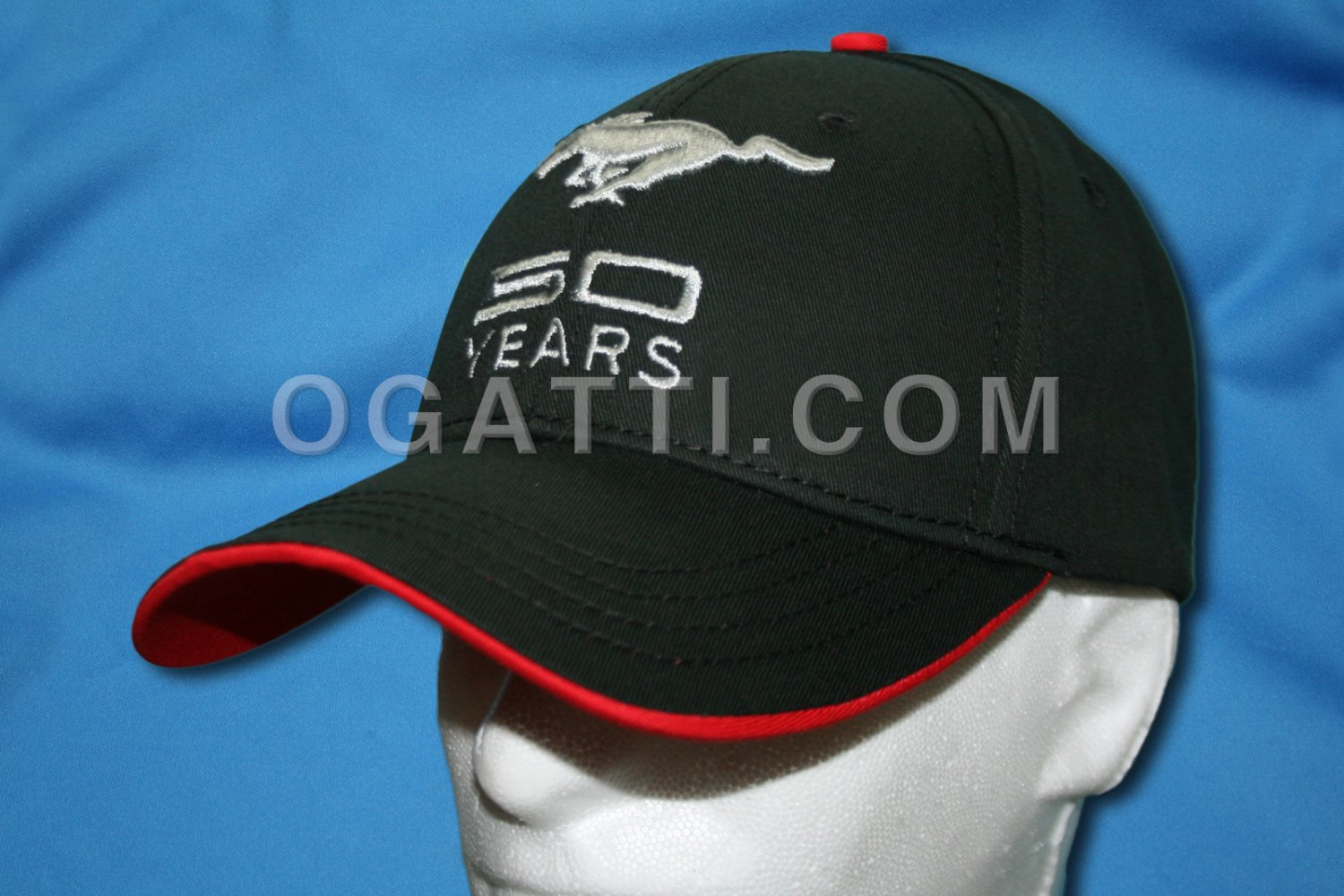 Brand New Ford Mustang Fifty Years Hat 1012266