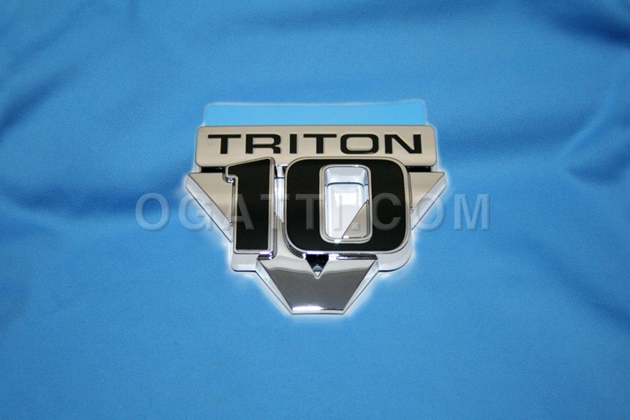 Brand New Ford OEM 2005-2007 V-10 Triton Fender Emblem 5C3Z-16720-AA