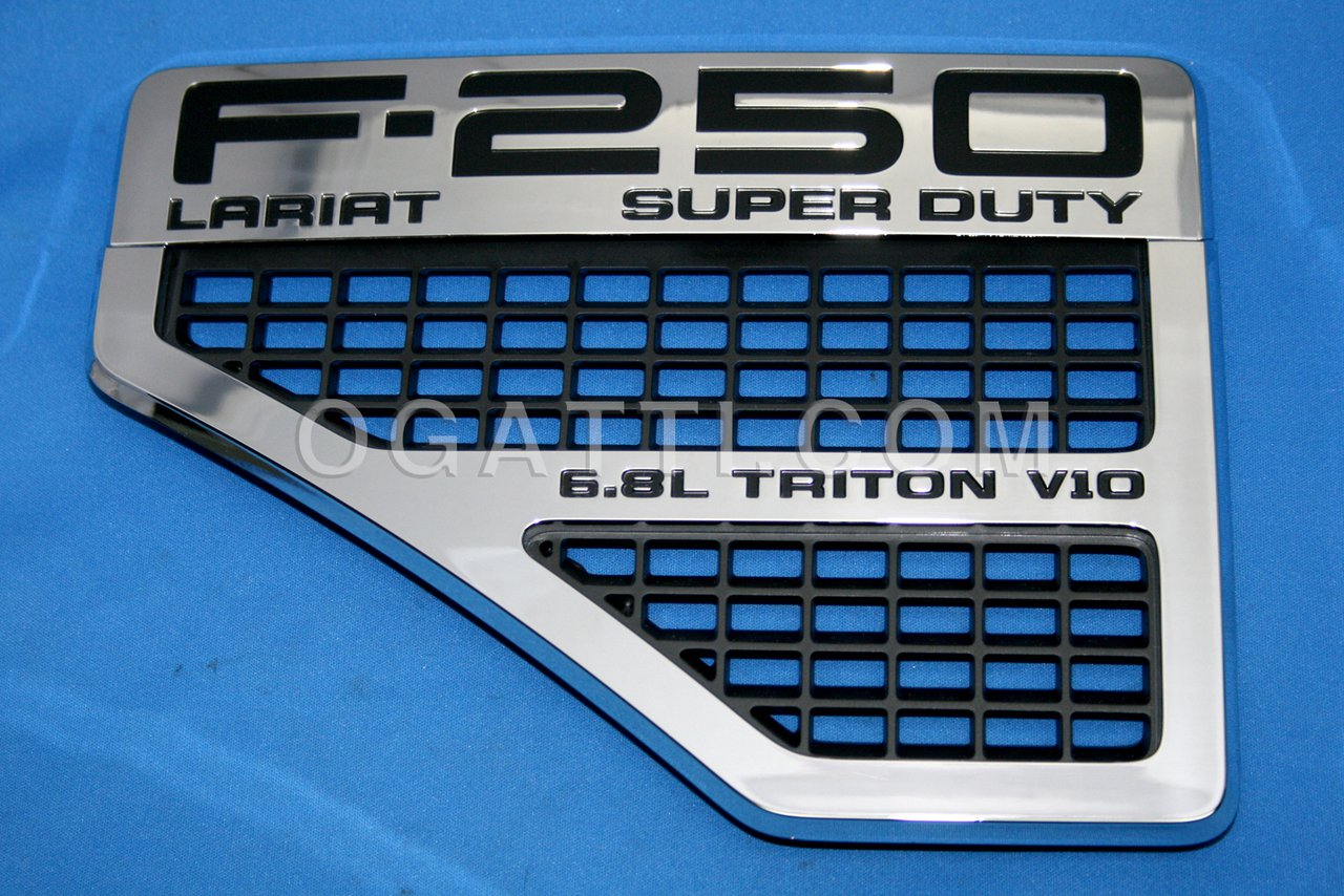Brand New Ford OEM F-250 Lariat SUPER DUTY 6.8L Triton V10 2008-2010 Left Vent Set 8C3Z-16228-D
