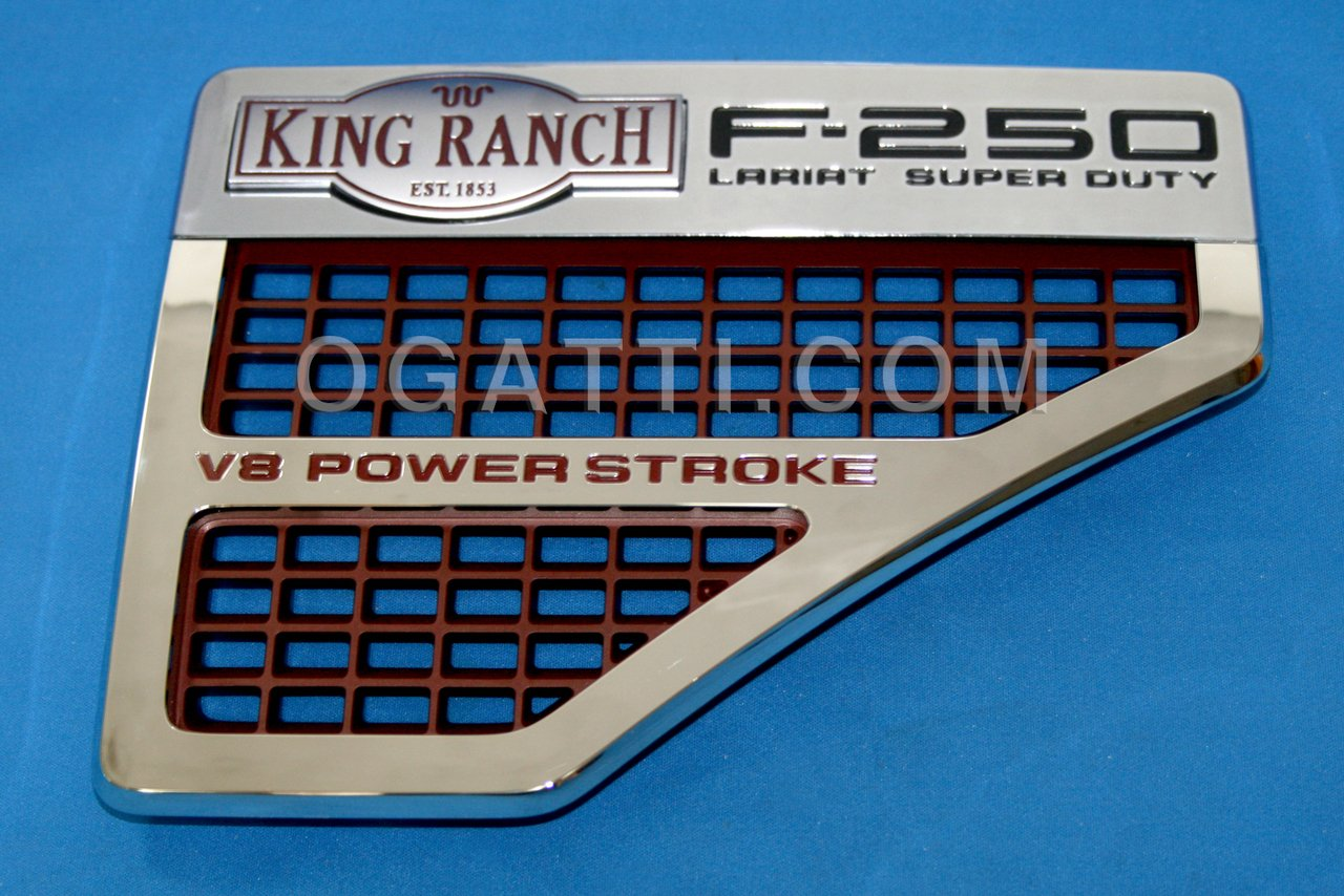 Brand New Ford OEM F-250 King Ranch V8 Power Stroke 2008-2010 Right Vent Set 8C3Z-16228-A