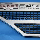 Brand New Ford OEM F-450 King Ranch Lariat 2008-2010 Left Fender Vent Set 8C3Z-16228-F