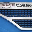 Brand New Ford OEM F-350 King Ranch Lariat  2008-2010 Left Vent Set 8C3Z-16228-F