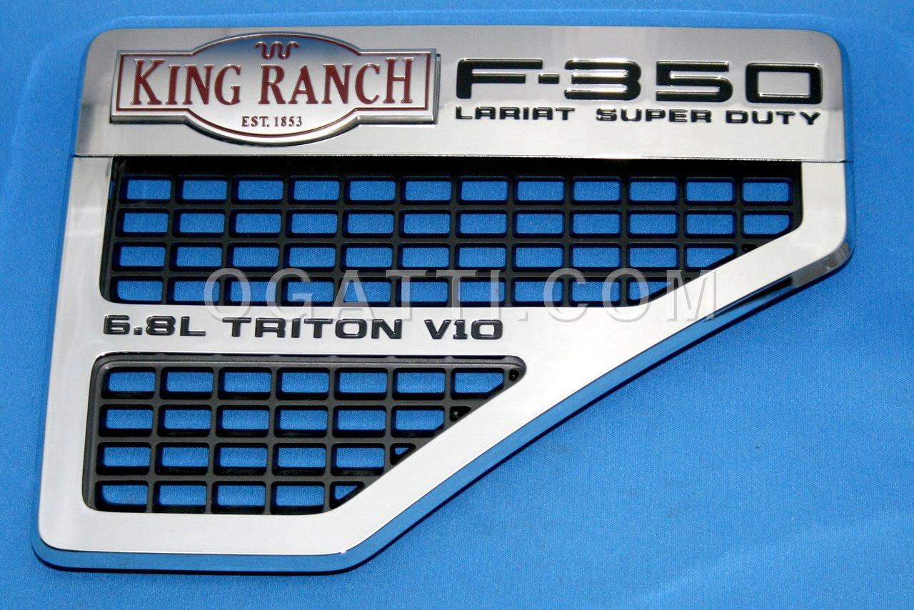 Brand New Ford OEM F-350 King Ranch 6.8L Triton V10 2008-2010 Right Vent Set 8C3Z-16228-C