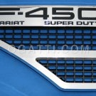 Brand New Ford OEM F-450 Lariat Super Duty 2008-2010 Left Fender Vent Set 8C3Z-16228-F
