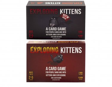 Exploding Kittens, Original Edition + NSFW Edition Combo