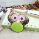 Handmade Animal Magnetic Fridge Megnet Refrigerator (Owl)
