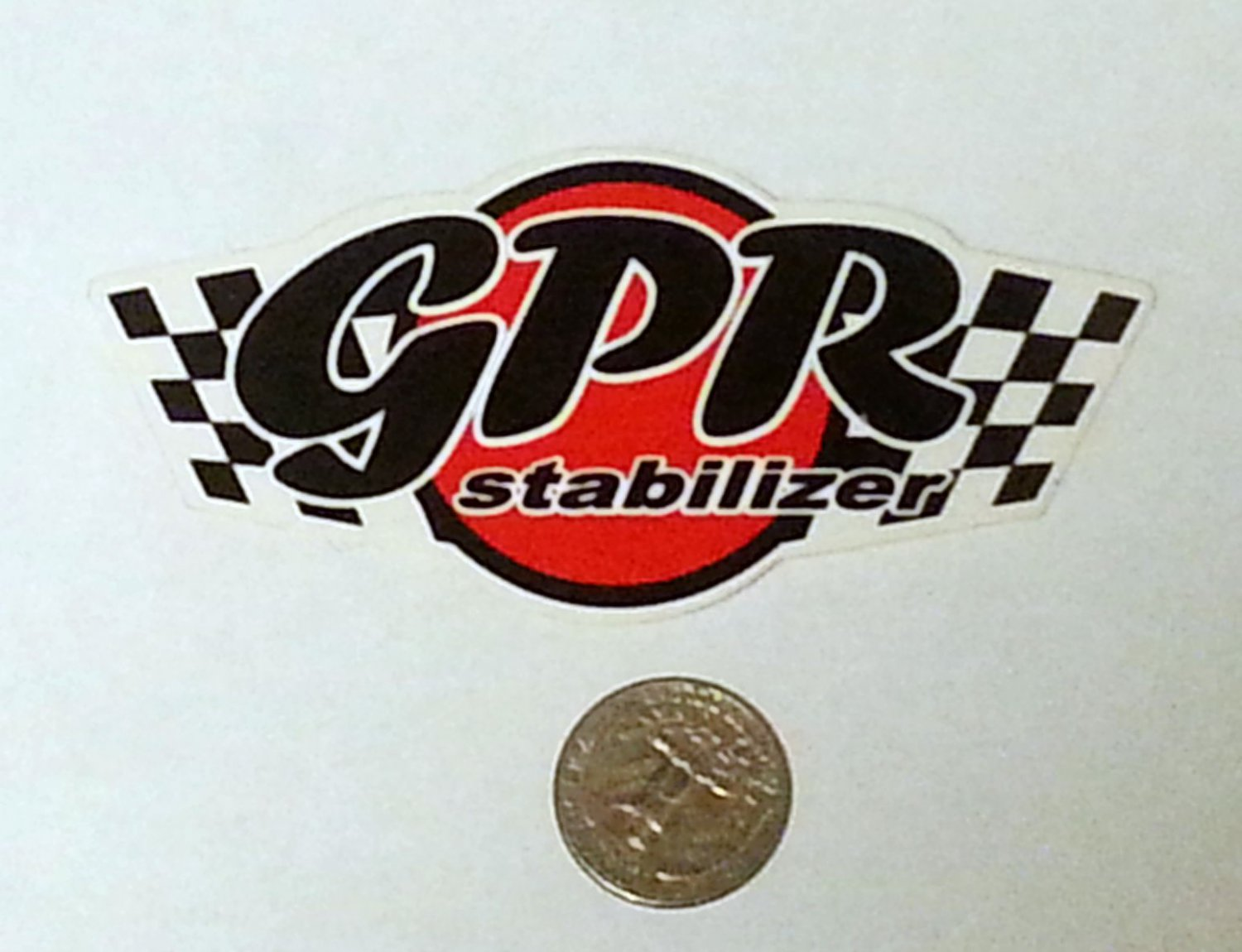 "GPR Stabilizer Sticker - 4 1/2"" x 2"""
