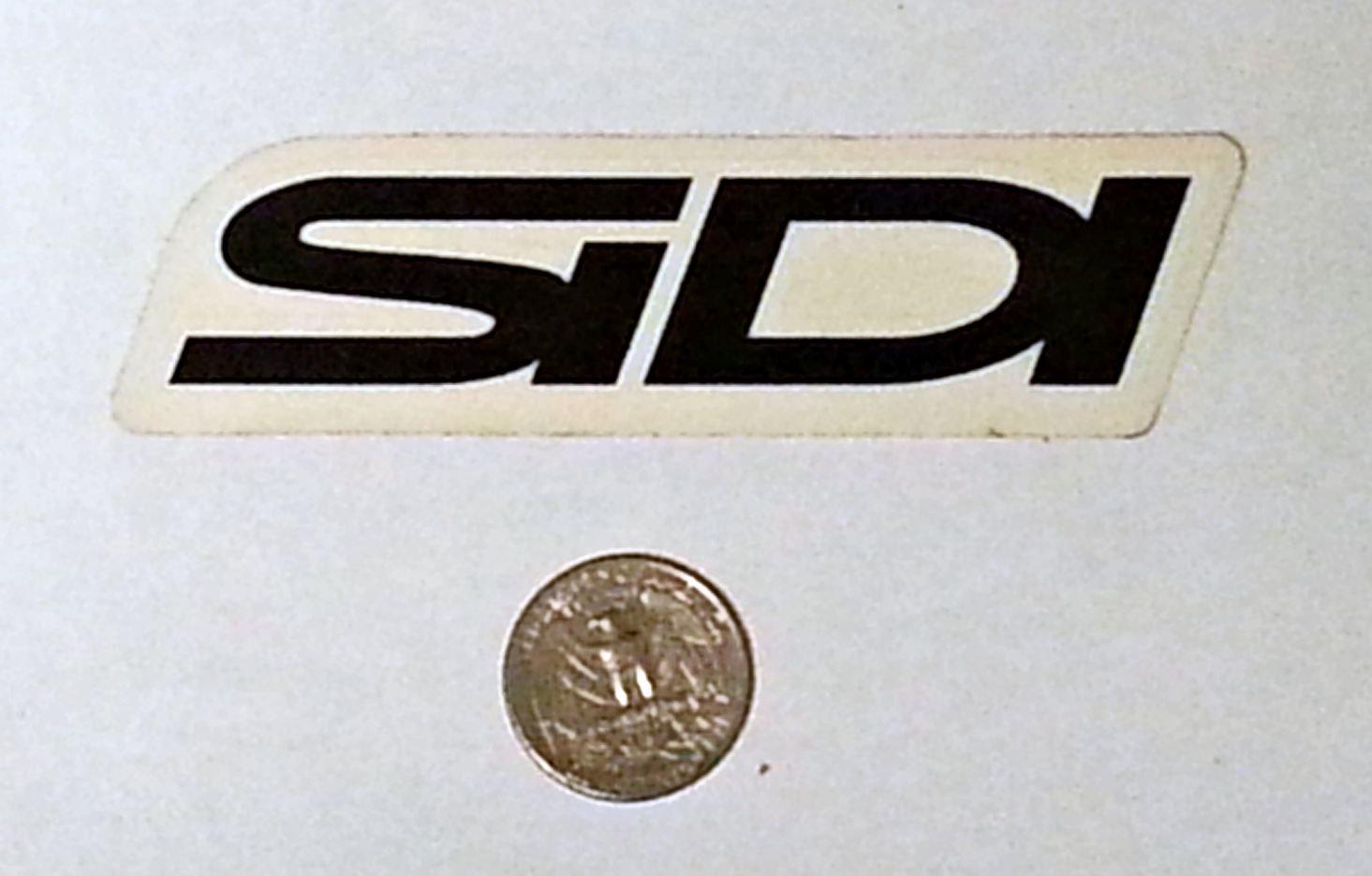 """Sidi sticker - 4"""" x 1 1/8"""""""