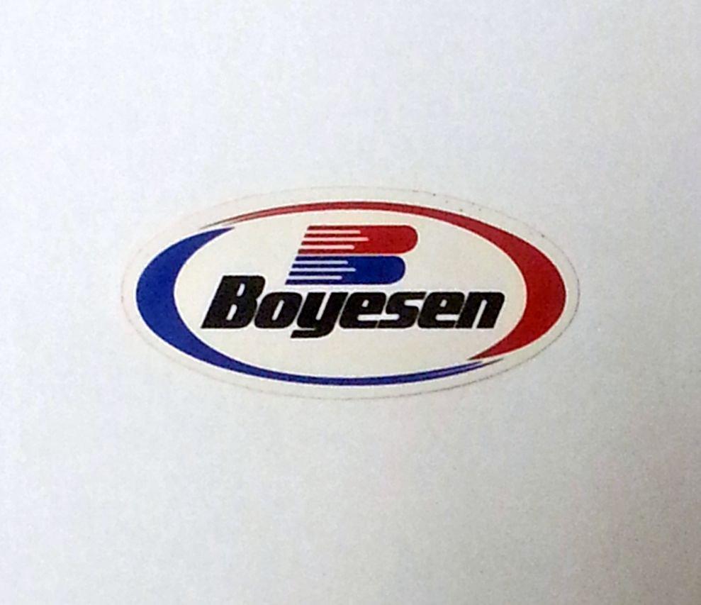 """Boyesen sticker - 4 1/4"""" x 2"""""""