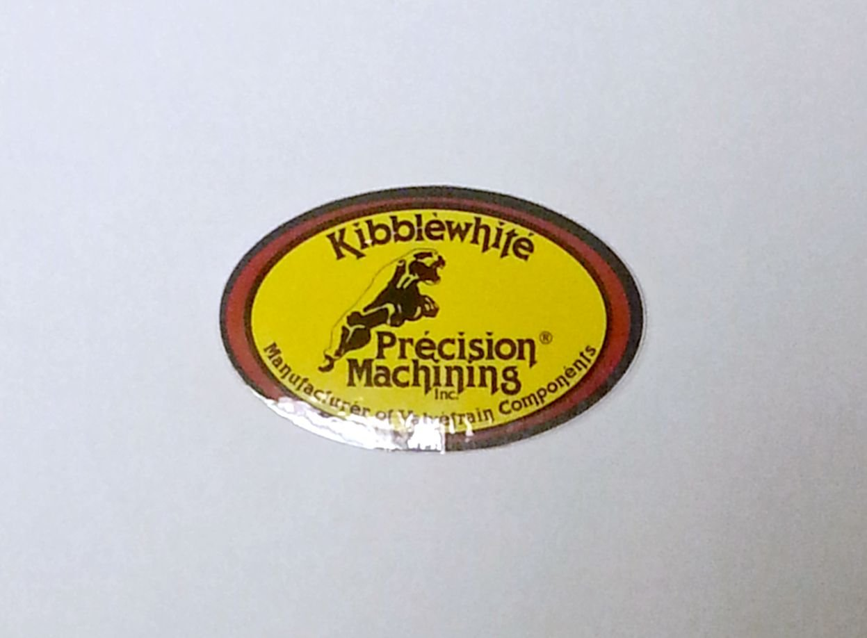 """Kibblewhite Precision Sticker - 4"""" x 2 5/8"""""""
