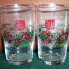 Four Collectable German Souvenir Shot Glasses