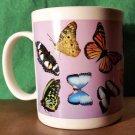 Beautiful Quality Made Butterfly Coffee Mug by Linyi
