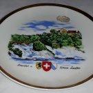 Rheinfall – Schloss Laufn Collector Plate