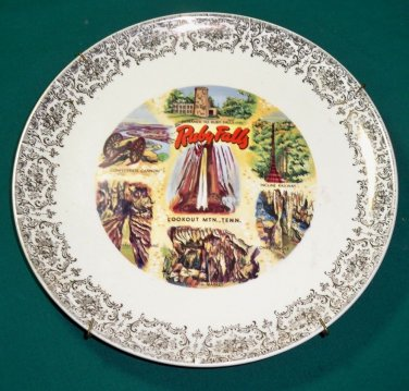Vintage Ruby Falls Collector Souvenir Plate