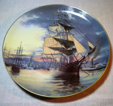 The Great Clipper Ships Collectors Plate by Leonard Pearce � Flying Cloud