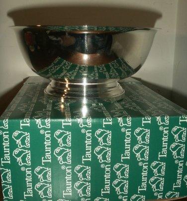 Seven Inch Paul Revere Silverplate Bowl  - Taunton