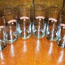 Bailey's Irish Cream Promotional Glasses Set of Eight