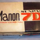Vintage SUNPAK 7D Manon Flash Unit
