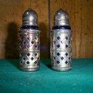 Vintage Silverplate Salt & Pepper Set