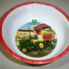 Single Collectable John Deere Plastic Cereal  Bowl