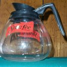 Sara Lee Restaurant Glass Coffee Pot Carafe by SCHOTT
