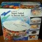 Multi Purpose 11 Piece Salad & Server Set -NIB