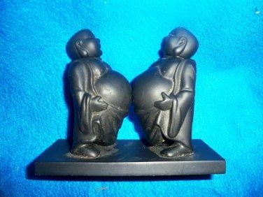 Double Standing Buddhas  Figurine