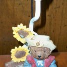 Welcoming Sunflower Teddy Bear Accent Lamp