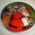 """CLEARANCE!!  Avon """"The Magic That Santa Brings"""" 1987 Porcelain Plate"""
