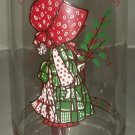 """CLEARANCE!! Coke Christmas """"Holly Hobbie"""" Limited Edition glass"""