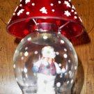 CLEARANCE!! Gorham Winter Follies Snow Globe Tea light Candle Holder
