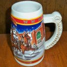 """Budweiser """"A Century of Tradition"""" 1999 Holiday Stein - CS389"""