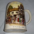 Vintage Staffordshire Porcelain Co. Mug Stein - Old Coach House York - England
