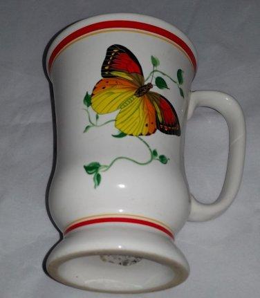 Vintage Monarch Butterfly Coffee Mug