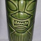 Green CeramicTiki Mug/ Vase DW113